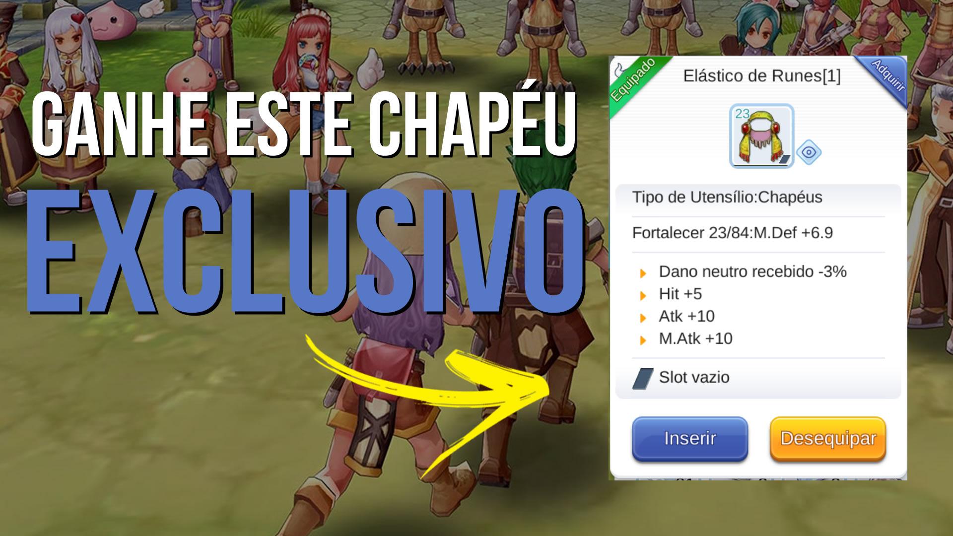 QUEST SECRETA para liberar Chapéu Exclusivo em Ragnarok Mobile